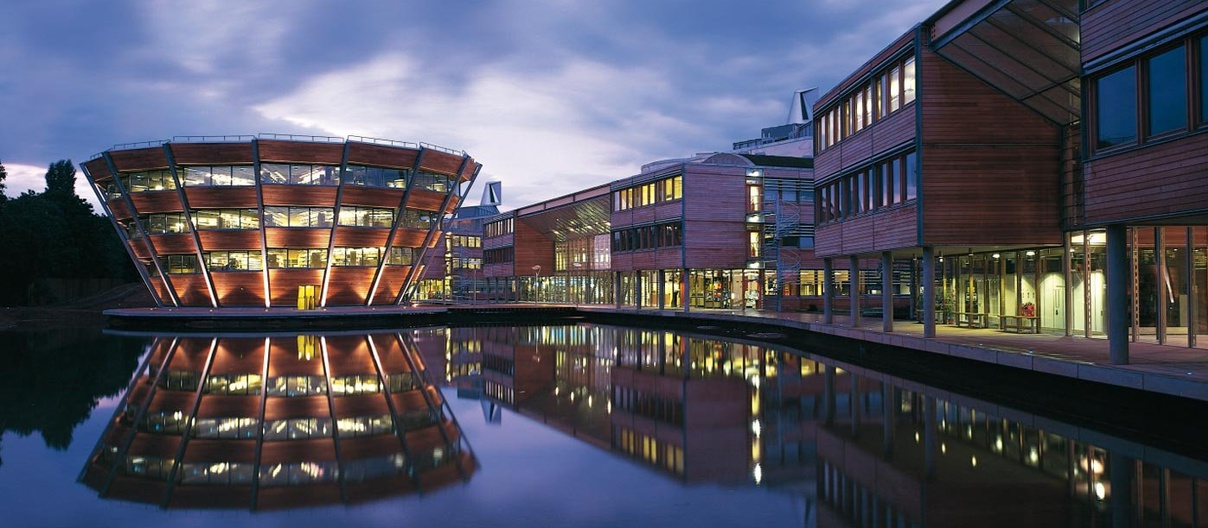 Jubilee Campus Nottingham University